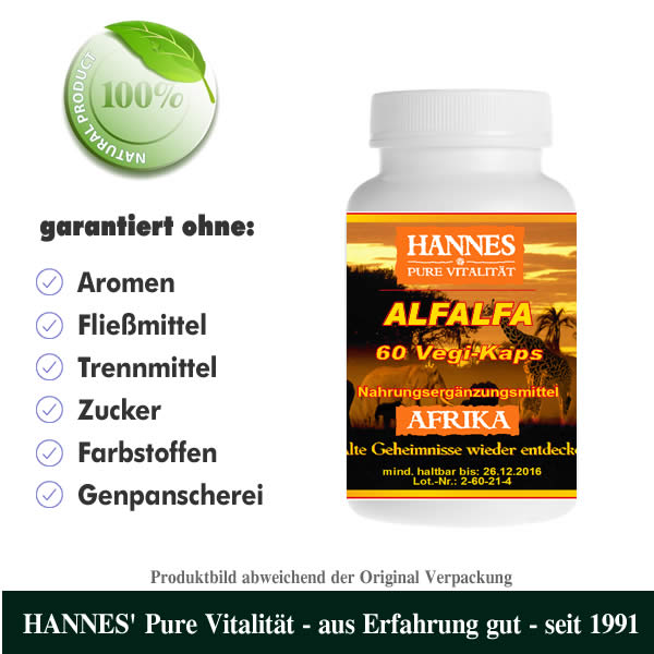 Alfalfa Vegi-Kaps Dose