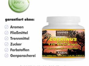 Coprinus Pilz Extrakt Vegi-Kaps Dose