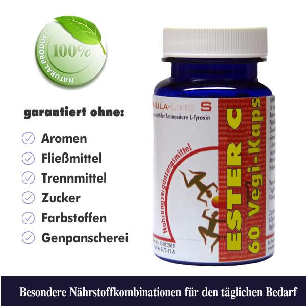 Ester Vitamin C Vegi-Kaps Dose