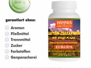 Lutein-Zeaxanthin Vegi-Kaps Dose
