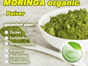 Moringa Blatt Pulver