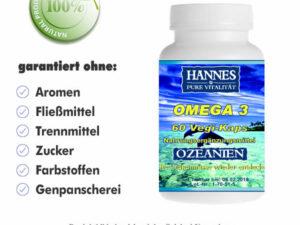 Omega 3 Vegi-Kaps Dose