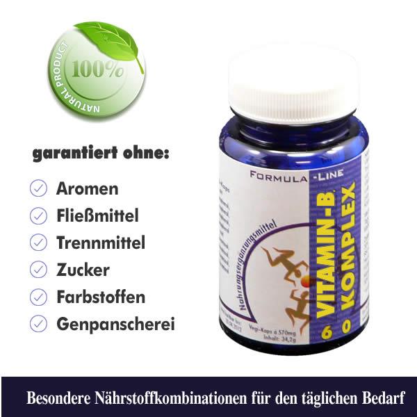Vitamin B Komplex Vegi-Kaps Dose